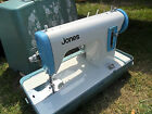 NICE VINTAGE 1960'S JONES ELECTRIC SEWING MACHINE,LIGHT,NO FOOT PEDAL,VGC