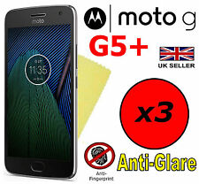 3x HQ MATTE ANTI GLARE SCREEN PROTECTOR COVER GUARD MOTOROLA MOTO G5 PLUS G5+