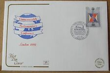 1986 Cotswold GB First Day Cover with Special Postmark - Commonwealth Conference
