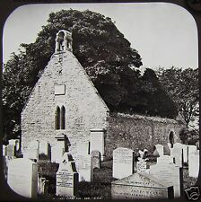 Glass Magic Lantern Slide ALLOWAY AULD KIRK AYR C1890 SCOTLAND PHOTO