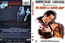 To Have and Have Not ~ New DVD 2006 ~ Humphrey Bogart, Lauren Bacall (1944)