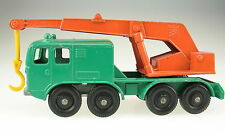 MATCHBOX No 30 - 8 Wheel Crane - Lesney Regular Wheels - Model Car