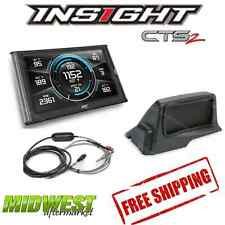 Edge Insight CTS2 With EGT Probe & Dash Mount For 2006-2009 Dodge Cummins Diesel