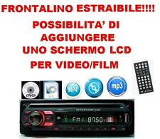 STEREO AUTO MP3 DVD CD RADIO AUDIO PLAYER DISPLAY LCD SD MMC USB