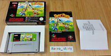 Super Nintendo SNES Power Piggs Of The Dark Age PAL