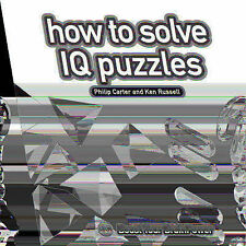 How to Solve IQ Puzzles: Boost Your Brain Power,VERYGOOD Book