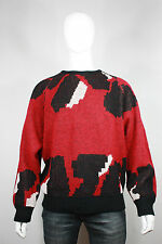 VTG HUGO BOSS Wool Mohair Sweater 42 44 90's Baggy West Germany