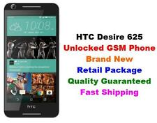 "Unlocked GSM Cricket AT&T T-Mobile HTC Desire 625 4G LTE Android 5"" 8GB (White)"