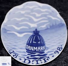 1898 ROYAL COPENHAGEN GEDENKTELLER / COMMEMORATIVE PLATE #19 Bing Grondahl