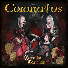 CORONATUS Recreatio Carminis Digipak-CD ( 205827 )   Female Fronted Gothic Metal