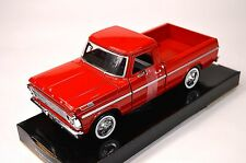 FORD F-100 PICKUP 1969 MOTORMAX 79315 1:24 NEW DIECAST MODEL SOLID RED