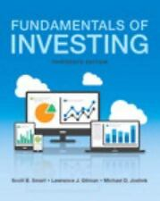Fundamentals of Investing (BRAND NEW US HARDCOVER 13/E)