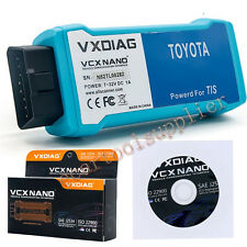 VXDIAG VCX For TOYOTA TIS SAE-J2534 Scanner Diagnostic ECU Reprogrammer WIFI Ver