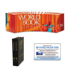 2014 World Book Encyclopedia Set. Package w/ Year Books & Web Subscription