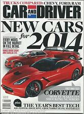 Car and Driver magazine Range Rover Sport Cadillac CTS Corvette Chevy Ford Ram