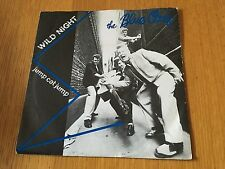 "BLUE CATS - WILD NIGHT - 1981 7"" P/S ROCKABILLY - BUY 3 7""S PAY POSTAGE FOR ONE!"