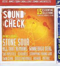 STONE SOUR / ALL THAT REMAINS / WINNEBAGO DEAL -  ROCK SOUND CD no. 87 2006