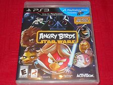 ANGRY BIRDS STAR WARS  PS3  FACTORY SEALED!!!  FAST FREE SHIPPING!!!  C@@L!!!