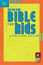 NLT The One Year Bible for Kids Challenge Edition Paperback BRAND NEW