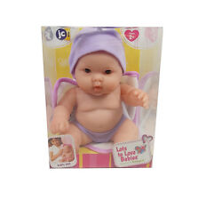 "JC Toys LOTS TO LOVE 8"" BABIES PURPLE W/ OPEN MOUTH Doll Bath Time NEW 16822C"