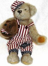 Tender Hearted Collectible Brown Teddy Bear Plush Stuffed Holding Baby Bear  70