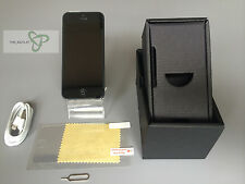 Apple iPhone 5 - 16 GB - Negro y Gris (Libre) - Good Condición- Usado