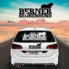Autoaufkleber Aufkleber Sticker Autofolie Autobeschriftung Berner Sennenhund