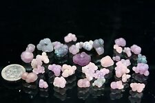 Sparkly Purple and Green Grape Agate Balls from Indonesia - Lot of 20+ Grams