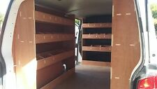 VW T6 NEW Transporter Van Racking LWB COMPLETE SYSTEM  Plywood Shelving Storage