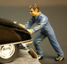 Werkstatt Crew, Wagenschieber Ken, 1:24, American Diorama 23902