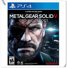 PS4 Metal Gear Solid V: Ground Zeroes SONY PLAYSTATION KONAMI Action Games