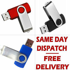 Memory Stick 8GB USB 2.0 Swivel Flash Pen Drive Thumb Para PC Laptop Tv Box Etc