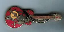 San Antonio HRC Dead Rocker Guitar Pin