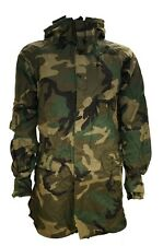 USGI Improved Rainsuit Parka Woodland Camo Size Medium ORC Industries