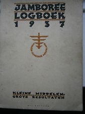 Jamboree Log Book Logboek 1937 Baden Powell Scout World Jamboree Netherlands