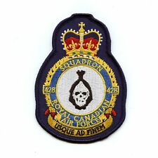 RCAF CAF Canadian 428 Squadron Heraldic Colour Crest Patch