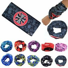 10 pc Bandana Bikers Riding Neck Face Mask Protection Tube Head Bands