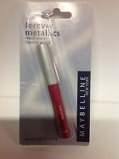 Maybelline Forever Metallics Lip Color Pencil -ROCK OUT RED ORIGINAL FORMULA