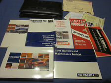 2005 SUBARU FORESTER OWNERS MANUAL SET W/ CASE