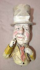 vintage rare 1971 W.C. Fields heavy plaster bust wall figure statue sculpture