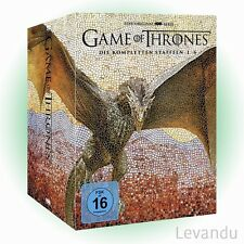 DVD-Box GAME OF THRONES - DIE KOMPLETTEN STAFFELN 1-6 - 33 DVD's NEU+OVP