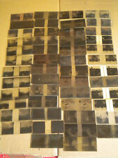 49 x vintage Stereowiew glass Negatives French 1930s 12 x 4.5 cm