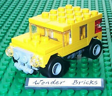 Lego Mini JEEP / HUMMER from Set 7602 Remake in YELLOW