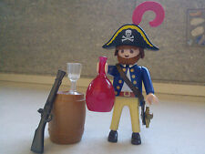 PLAYMOBIL-PIRATA CON BOTTE-VINTAGE- 3791