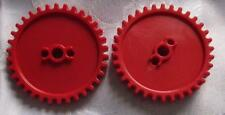 K'NEX SPARES - 55MM RED MEDIUM GEAR - KNEX PARTS WHEELS