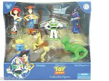 NEW Disney World Land Parks Toy Story figurine set Woody Jessie Buzz 7 figures