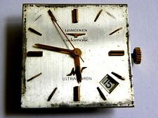 longines ultrac-chron cal #341 watch dial and movement