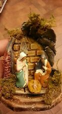 Nativita tutto in terracotta pastori 6 cm PRESEPE shereped S.GREGORIO A. crib