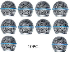 10 PCS Grill Mic Grille Ball type for fit Beta SM 58 A Beta58A Ball Head Mesh