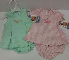NEW NWT Baby Girl Size 0-3 Month CARTER'S Summer Clothing Lot 2 piece Sets